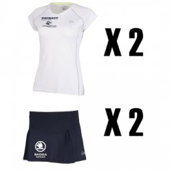 PACK 2 EQUIPACIONES Oficiales Dunlop Club Prodigy Junior GIRL