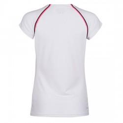 Camiseta Dunlop Crew Blanca Woman