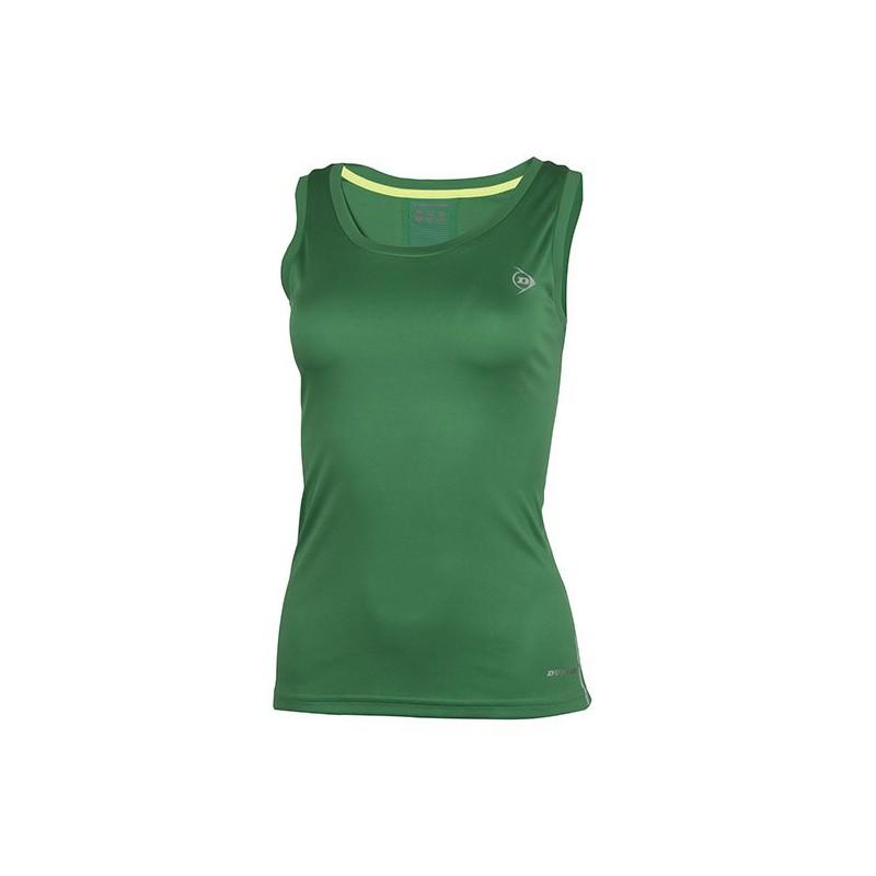 Camiseta Dunlop Tank Woman Verde