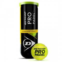 Tripack Pelotas Dunlop Pro Padel