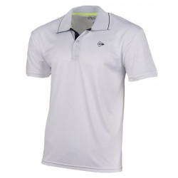 Polo Dunlop Club Blanco