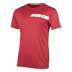 Camiseta Dunlop Club Mens Roja