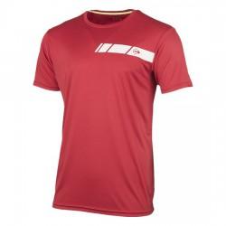 Camiseta Dunlop Club Mens Roja