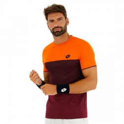 Lotto Top Ten Tee Naranja