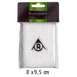 Muñequeras Dunlop Pro Blancas