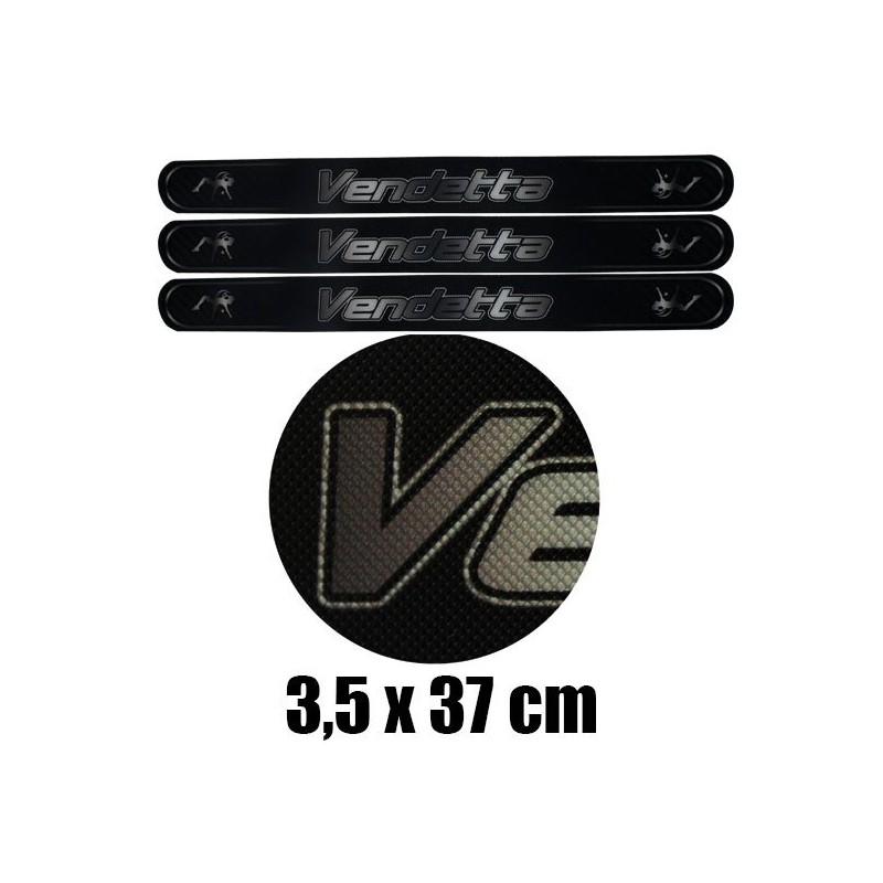 Protector Vendetta Carbon 3 Unids