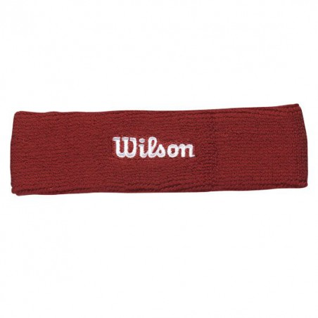 Headband Wilson Rojo