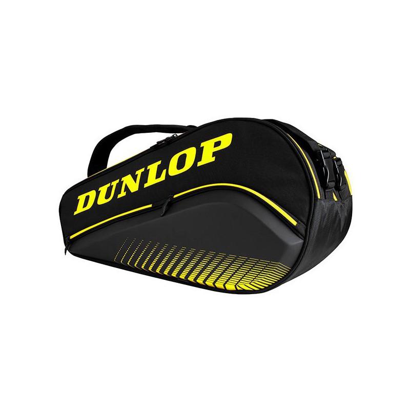 Paletero Dunlop Thermo Elite Negro-Amarillo