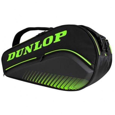 Paletero Dunlop Thermo Elite Negro-Verde