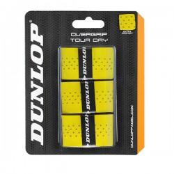 Overgrips Dunlop Tour Dry Amarillos Perforados