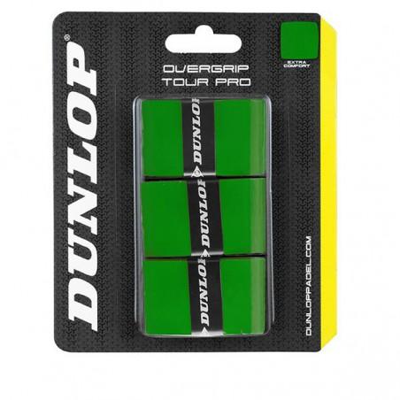 Overgrips Dunlop Tour Pro Verdes