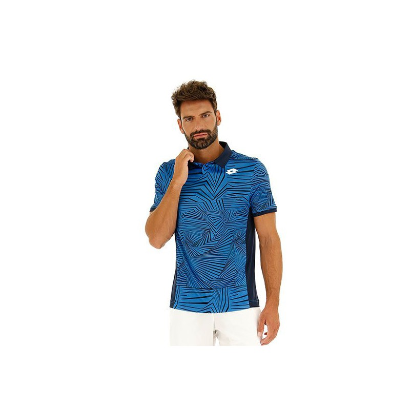 Polo Lotto Superrapida III Azul