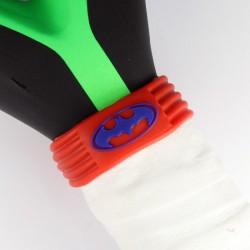 Ring Sujeta Grip Naranja Azul Batman-Superman (3 Unidades)