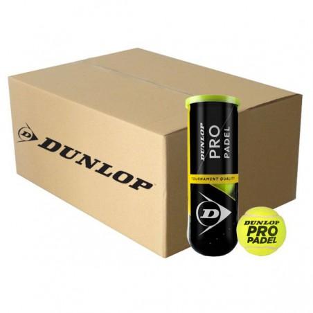 Cajón Pelotas Dunlop Pro Padel 24 Botes
