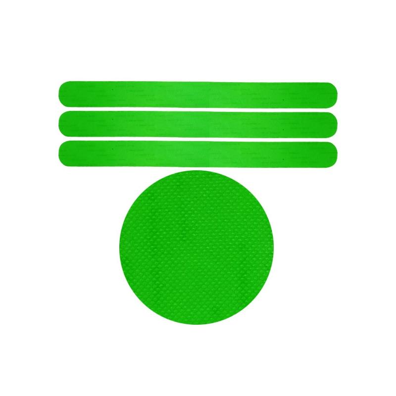 Protectores Verdes Microcuadrículas Universal 3 unids
