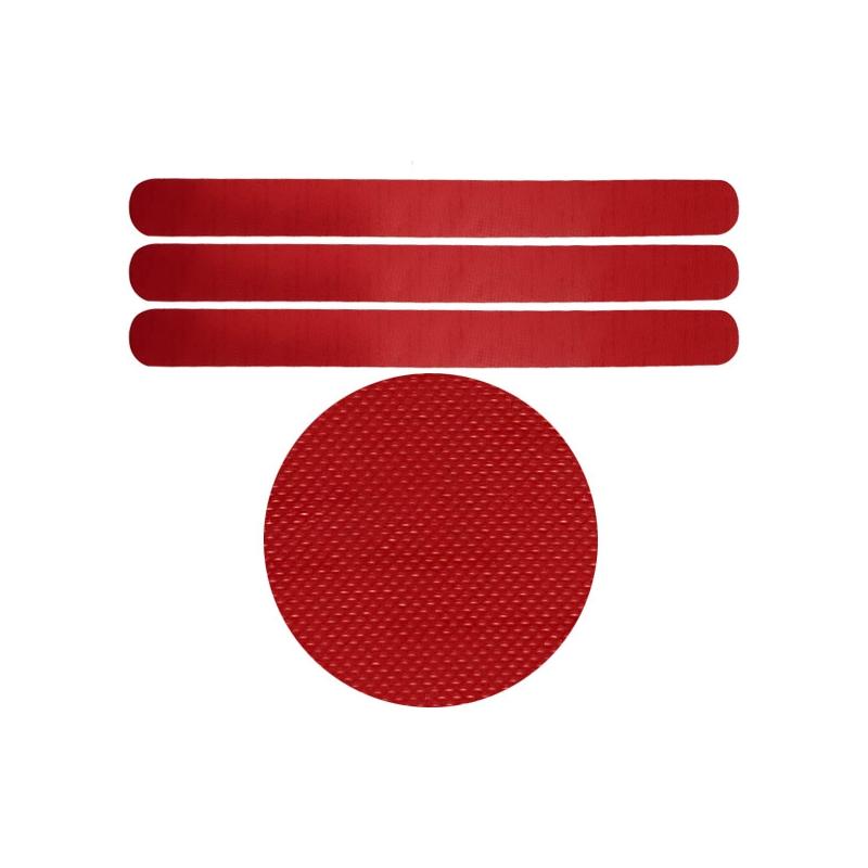 Protectores Rojos Microcuadrículas Universal 3 unids