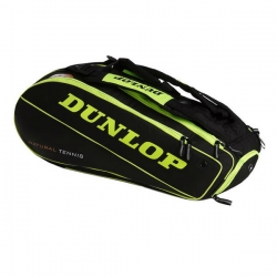 Raquetero Dunlop Nt 8 Amarillo