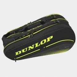 Raquetero Dunlop SX 8 Amarillo