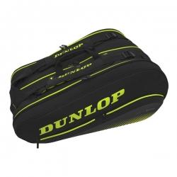 Raquetero Dunlop SX 12 Amarillo