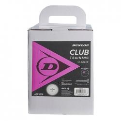 Training Ball 12 Docenas Dunlop Club Blancas
