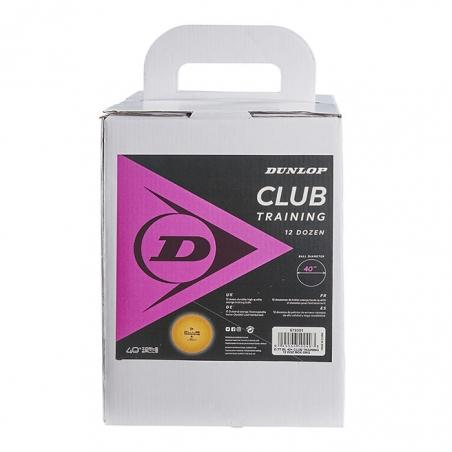 Training Ball 12 Docenas Dunlop Club Amarillas