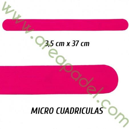 Protector Rosa Fluor PVC / Unidad