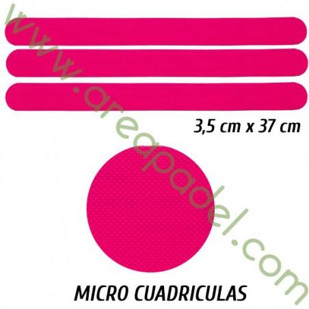 Protectores Rosa Fluor (3 Unidades)