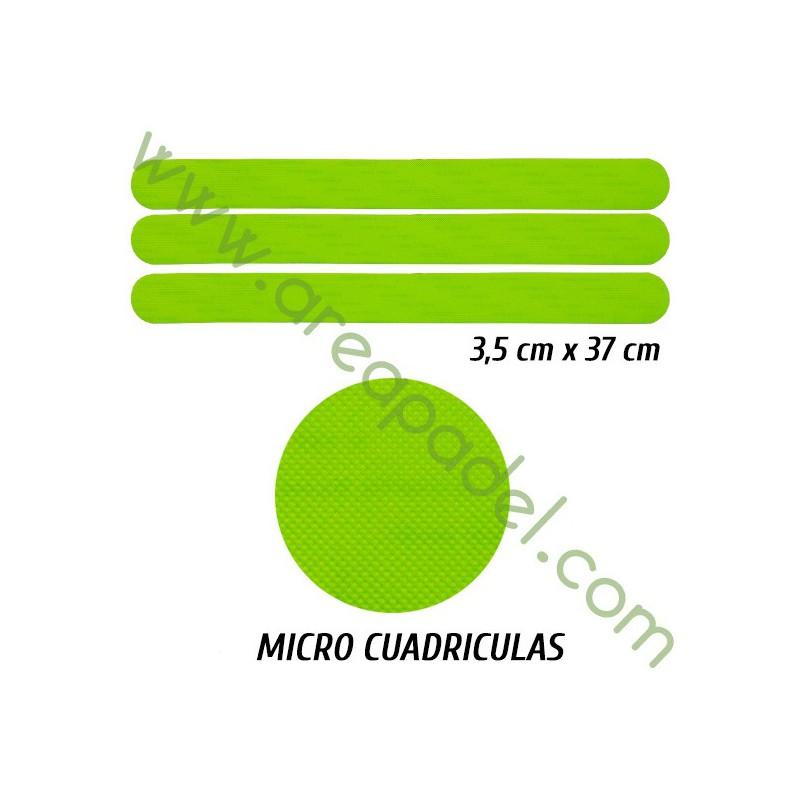 Protector Amarillo Fluor PVC / Unidad