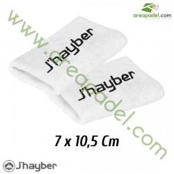 Muñequeras Jhayber Blancas (Pack 2 Unidades)