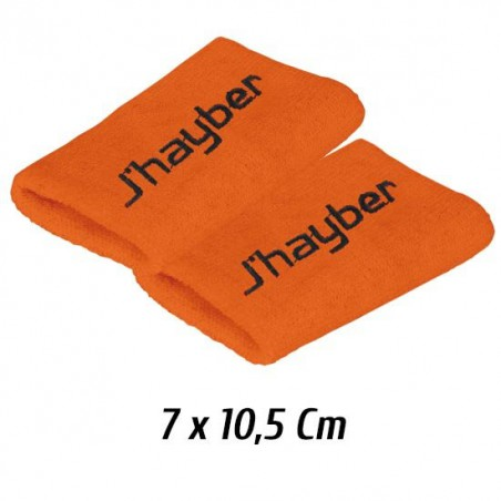 Muñequeras Jhayber Naranjas (Pack 2 Unidades)
