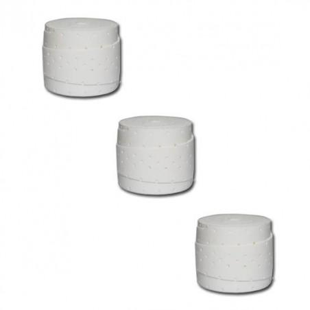 Overgrips Wilson Comfort Pro Blanco Perforados 3 Unidades