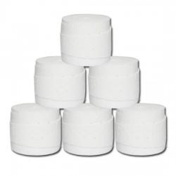 Overgrips Wilson Comfort Pro Blanco Perforados 6 Unidades