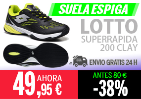 Zapatillas Lotto Superrapida 200
