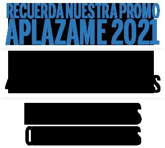 promo aplazame 2021